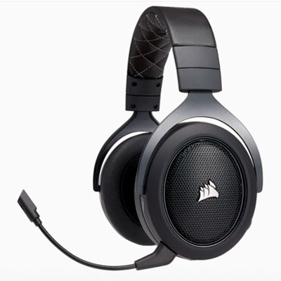 CA-9011227-NA CORSAIR                                                      | CORSAIR HEADSET HS70 WIRELESS GAMING