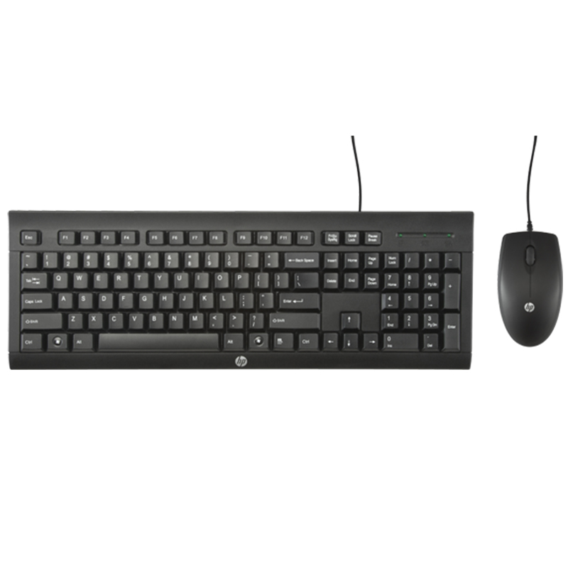 J8F15AA HP                                                           | COMBO TECLADO + MOUSE HP CON CABLE USB